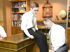 Rector mormon elder shaves elders cock for be crazy