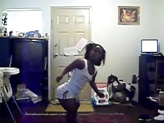 blind black midget dancing